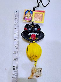 Brij Sugandha Nazar Battu Wall Hanging, Evil Eye Protector Najar Battu (Saves Your Home From Negative Energy)