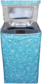 KHUSHI CREATION Top Load Fully Automatic Washing Machine Cover (Suitable for 6 kg, 6.5 kg, 7 kg, 7.5 kg) (Green)