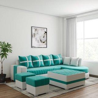 Houzzcraft Maxi L shape sofa in fabric
