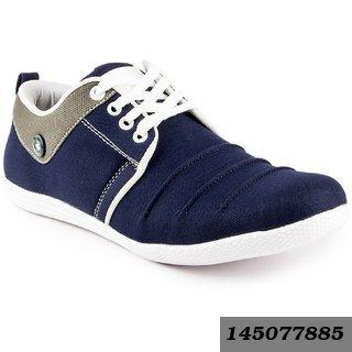 Men'S Blue Smart Casual Shoes