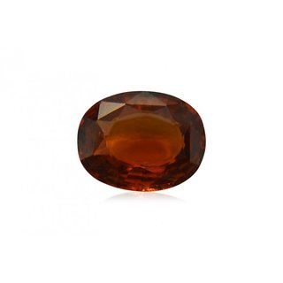 Proaom Gurpreet Gems7.25 ratti Natural Hessonite Gomed GLI Certified