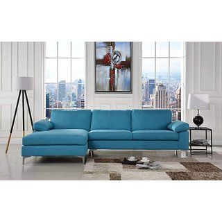 Houzzcraft Monster L Shape sofa in fabric