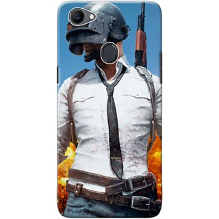 huge discount adde1 f194a Oppo F7 PUBG Mobile Back Cover Standard Quality