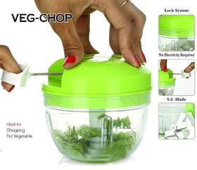 Ankur All in One Smart Food Premium Dori Chopper (Green)