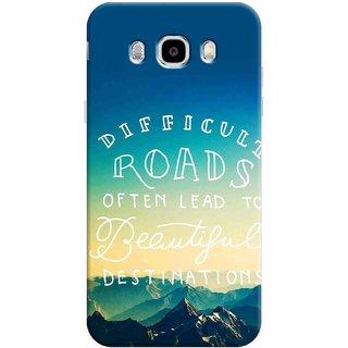 Digimate Printed Designer Hard Plastic Matte Mobile Back Case Cover For Samsung Galaxy J5 (2016) Design No. 1198