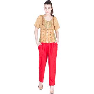 Rayon Narrow Pant