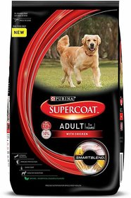 Purina SUPERCOAT Adult Dog Food Chicken 3 kg Dry Dog Food