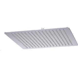 Intenzo 10x10 Ultra Slim Rain Shower Head without Arm