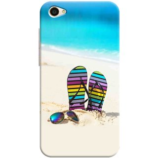 Digimate Printed Designer Hard Plastic Matte Mobile Back Case Cover For Vivo Y55s Design No. 1063