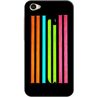 Digimate Printed Designer Hard Plastic Matte Mobile Back Case Cover For Vivo Y55s Design No. 0293