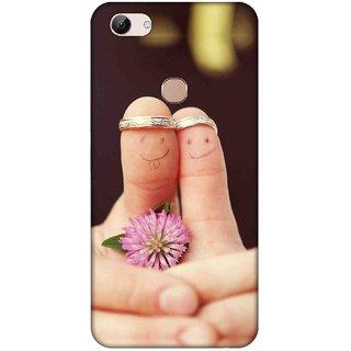 Digimate Printed Designer Hard Plastic Matte Mobile Back Case Cover For Vivo Y83 Design No. 0162
