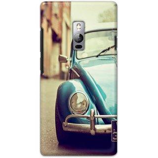 Ezellohub Printed Hard Mobile back cover for OnePlus 2 - car