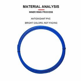 Car Wheel Protector Rim Sticker Moulding Strip Chrome Decoration Tire Rims Hub Strips(Blue) for - Nissan Car's