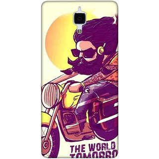 Digimate Printed Designer Soft Silicone TPU Mobile Back Case Cover For Xiaomi Mi 4I Design No. 0799
