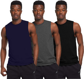 The Blazze Men's Sleeveless T-Shirt Tank Top Gym Tank Stringer Vest for Mens