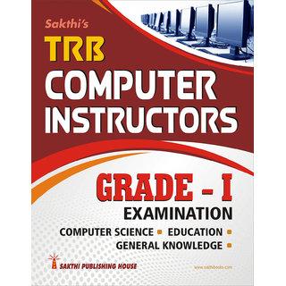 Trb Computer Instructors Grade I Exam Book