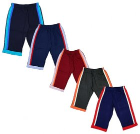 Kavin's Attractive Bermuda for Boys,Pack of 5, Multicolored-Star