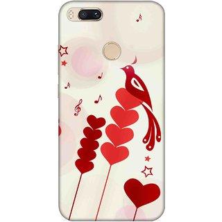 Digimate Printed Designer Hard Plastic Matte Mobile Back Case Cover For Xiaomi Mi A1 Design No. 1229