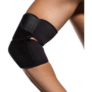 Elbow Support - Free Size (Black)