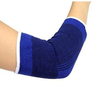 Cotton Elbow Support  Free Size Pair