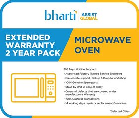 Bharti Assist Global Private Limited 2 Years Extended Warranty for Microwave Oven (Rs.7001/- to Rs.14000/-)