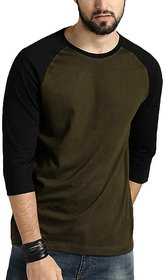 Leotude Men's Black T-shirts