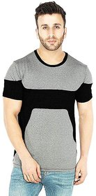 Leotude Men's Grey T-shirts