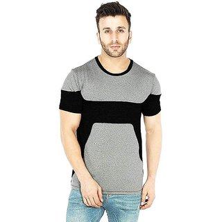 Leotude Men's Grey T-shirts