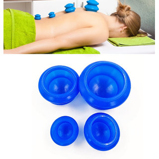 SPERO 12Pcs Silicone Mini Vacuum Cuppings Body Massage Cup Muscle Pain Stress Relieve Health Therapy