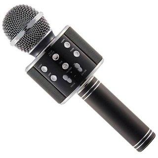 Arythe Wireless Bluetooth WS-858 Karaoke Microphone MIC For Singing Recording, Handheld Mike Portable Speaker