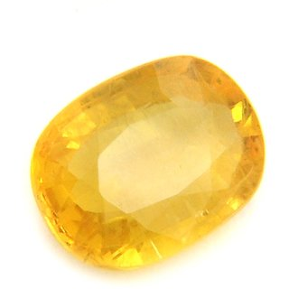 5.25 Ratti Yellow Sapphire Ceylon Mined Pukhraj Buy CEYLON SAPPHIRE IGL Certified