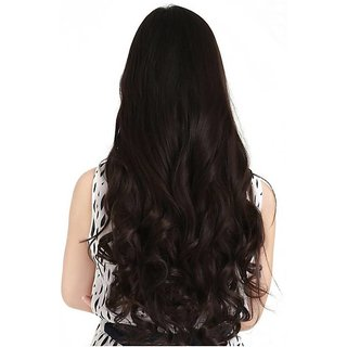 Haveream natural brown curly hair extension