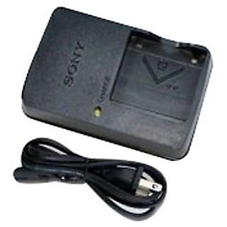 Sony BC-CSG Charger for Sony NP-BG1 Battey H7 HX9V H70 H9 With Free Power Cable