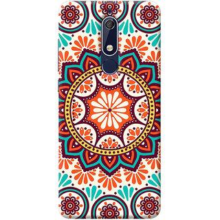 FABTODAY Back Cover for Nokia 5.1 - Design ID - 0976
