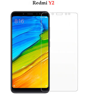 Redmi Y2  -   Premium Flexible 2.5D  Pro Hd+ Crystal Clear Tempered Glass Screen Protector For Redmi Y2