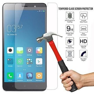 REDMI Note 4 Full Screen hammer-proof flexible guard  Premium Flexible Tempered Glass