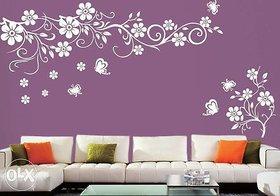 wall stencil flower design 5