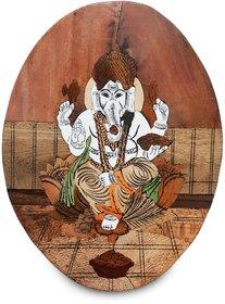 Ganesha wood frame