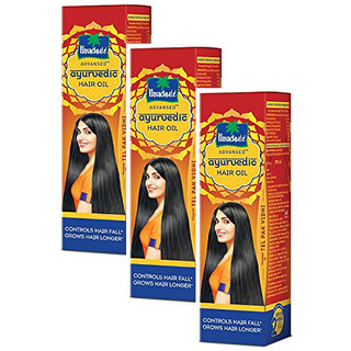 Parachute Advansed Ayurvedic Hair Oil Pack Of 3