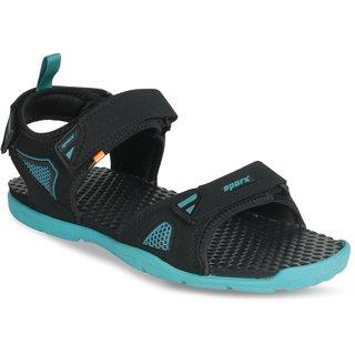 34ed2572b954 Buy Sparx Men SS-497 Black Blue Floater Sandals Online   ₹799 from ShopClues