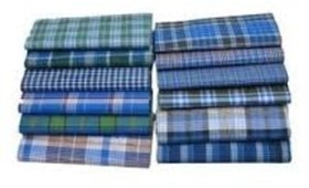 AKS Cotton Lungi 2.10 mts - Combo of 5