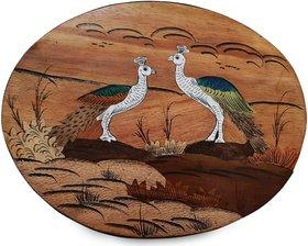 Peacock wooden frame