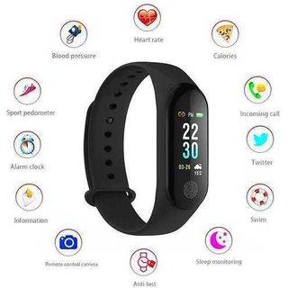 G-MTIN M3 Smart Band Wristband Bracelet Heart Rate Fitness Tracker Sleep Monitor Waterproof Watch M3 Fitness Band