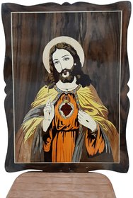 Jesus Christ wooden frame