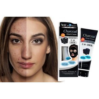 Deep Cleansing Blackhead Remover - Bamboo Charcoal Peel Off Mask Cream (130 g)