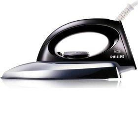 Philips GC0083 Dry Iron  (Black)