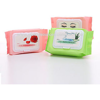 Cosmetics Makeup Remover Wipes 25 Pcs .1 Pkt