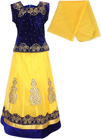 Arshia Fashions Girls Party Wear Lehenga Choli With Dupatta