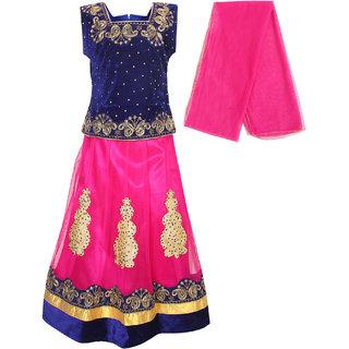 Arshia Fashions Girls Party Wear Lehenga Choli With Dupatta