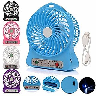 Portable Mini Rechargeable USB Fan  For I10 T-1